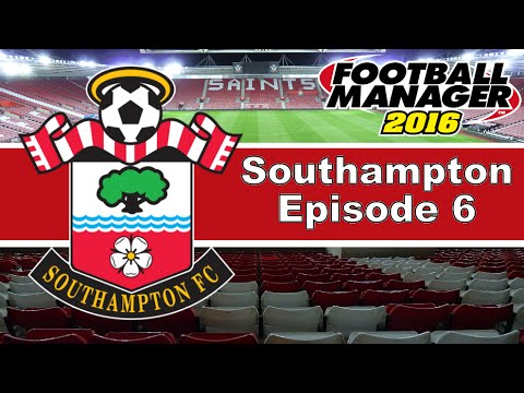 Football Manager 2016 | FM16 - Southampton Series - Episode 6 (Pre-Season + First EPL Game)
