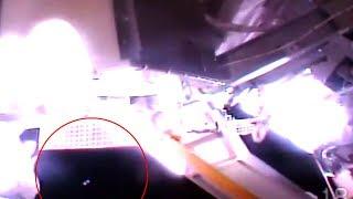 Strange Shaped UFO Captured During Space Walk (Video)