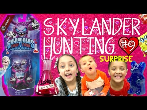 Love Potion Pop Fizz Surprise Adventure w/ Valentines Day Gifts! (Skyl...