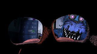 Secret Freddy mask cheat?! (FNAF4)