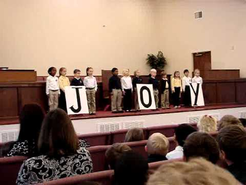 Calvary Classical School, First Grade Assembly 2