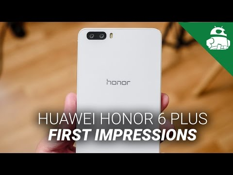 Huawei Honor 6 Plus First Impressions