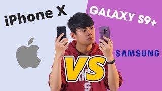 SO SÁNH iPHONE X - GALAXY S9+: FLAGSHIP ĐẠI CHIẾN!!!