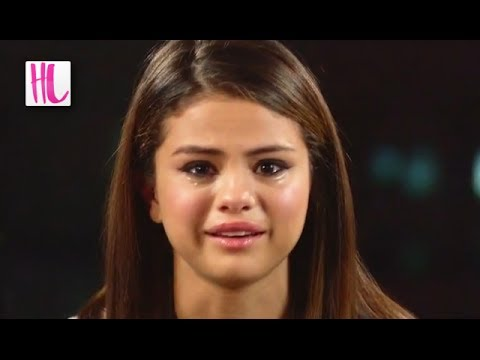 selena gomez breaks down in tears youtube