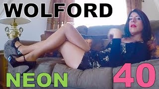 The Pantyhose Tranny - Modeling Wolford Neon 40