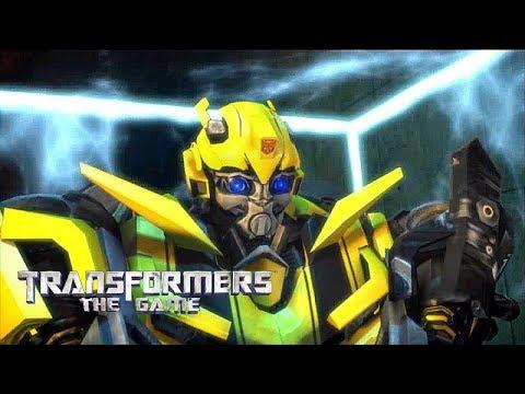 Transformers: The Game прохождение - ВНУТРИ ДАМБЫ ГУВЕРА   ОГРАНИЧЕНИЕ МОЩНОСТИ - 8 серия