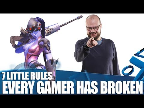 7 Rules Literally Every Gamer Has Broken At Some Point