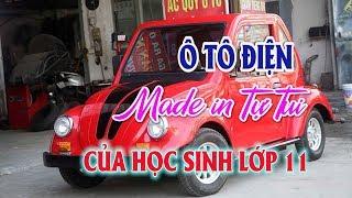 Ô tô điện Made in Tự Tui của học sinh Nam Định   Thị trường ô tô xe máy