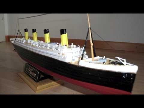Titanic - Revell model & Brigamo RC