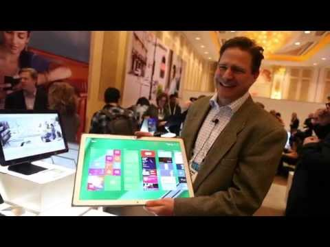 Panasonic Toughpad 4k hands-on, It's $6k!!!