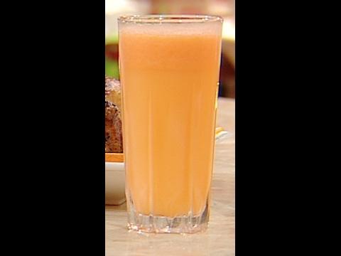 عصير البرتقال و الجزر على طريقة الشيف #هاله_فهمي من برنامج #البلدى_يوكل #فوود