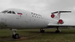Як-42 Самолет в музее Ульяновска Yak-42 Airplane
