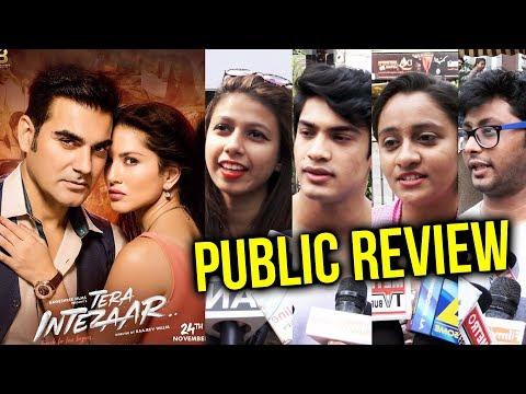 Tera Intezaar PUBLIC REVIEW   First Day First Show   Sunny Leone. Arbaaz Khan