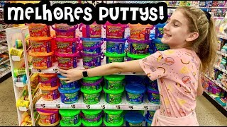 BEST PUTTY SLIMES I HAVE EVER BOUGHT ! SLIMES ! PUTTY ! SLIME SUPPLIES SHOPPING AT FIVE BELLOW !