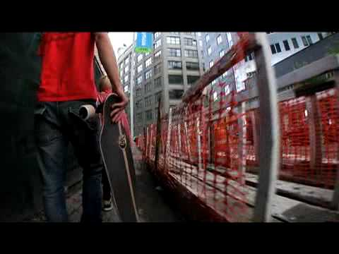 Push Culture Longboarding NYC - 2010 Concrete Wave Evolutions DVD Trailer - Bustin Boards Longboards