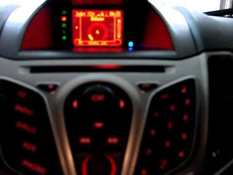 2011 Ford Fiesta Sync System 2012 Ford Fiesta Audio System
