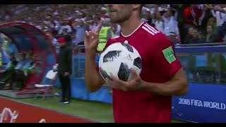 Iran player does 'the greatest throw-in in World Cup history' - Daily News