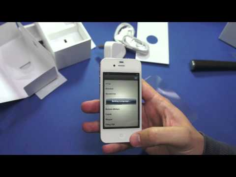 iPhone 4S unboxing Music Videos
