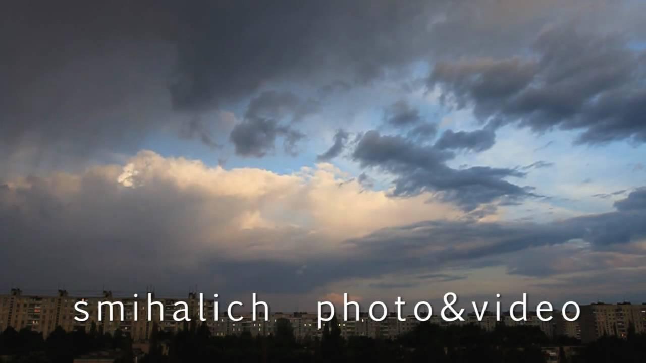 Футаж бегущие облака HD (720)