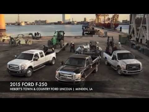 BUILT TOUGH FOR WORK 2015 FORD F-250 | HEBERT'S FORD IN MINDEN, LA