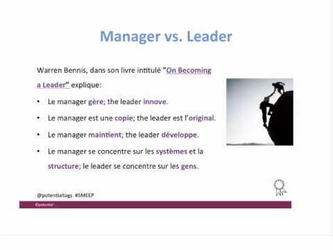 La difference entre un manager et un leader youtube - Difference entre encastrable et integrable ...