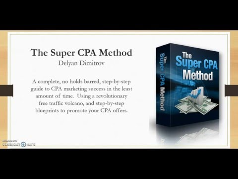 The Super CPA Method Review and Bonus - Niche Marketing Authority