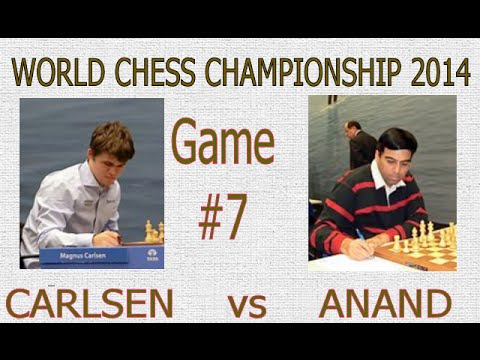 World Chess Championship 2014 : Game 7: - Kingscrusher and Friends Youtube Livestream