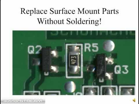 Surface Mount Repair Without Soldering