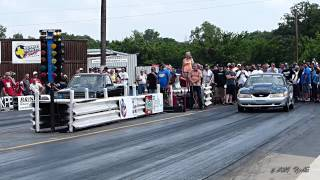 BK Hoffman VS Dave Comstock 1st Rnd SMNP  May 2014 (Street Outlaws)