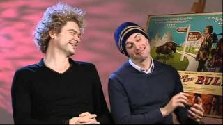Simon Farnaby and Edward Hogg interview-Bunny and the Bull