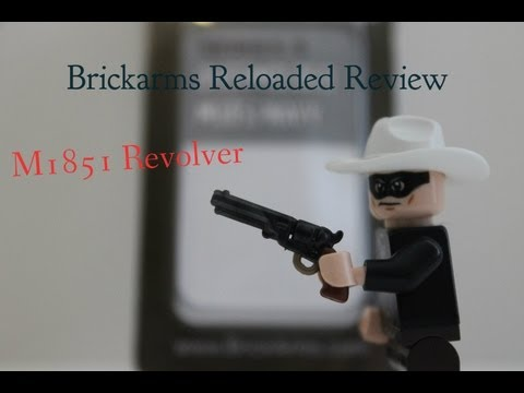 Brickarms Reloaded M1851 NAVY REVOLVER Review