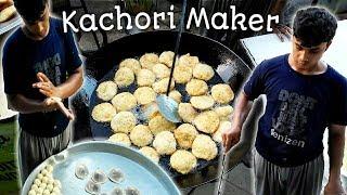 Kachori Wala | Non Stop Kachori Maker | Street food of Karachi Pakistan