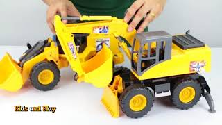 UnBoxing Super Truck And Car Toys For Kids | Excavator For Children | Kids and Play