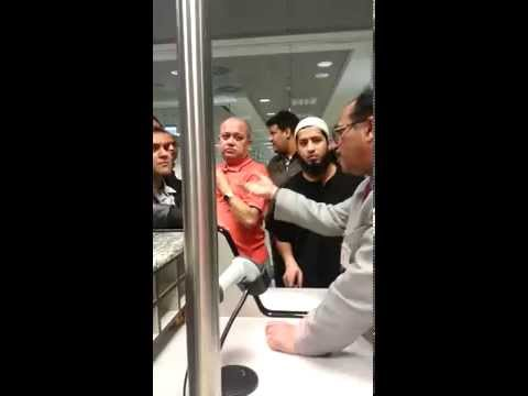 Air India diverted to Budapest 22nd Jan 2015 - video 2