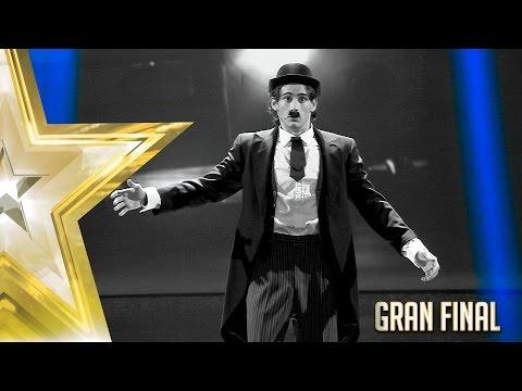 Un increíble Samuel encarna a un Chaplin desatado | Gran Final | Got Talent España 2017