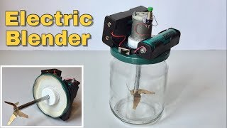 How to Make Electric Blender at Home - Simple Kithen Life Hack