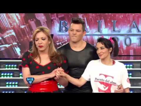 Lizy Tagliani fue eliminada del Bailando