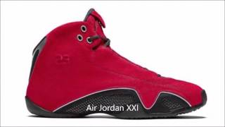 Todos los modelos de zapatillas Air Jordan - All the Air Jordan sneakers
