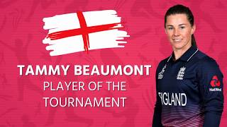 Tammy Beaumont: Player of the Tournament