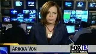 TV News Reporter - Arikka Von