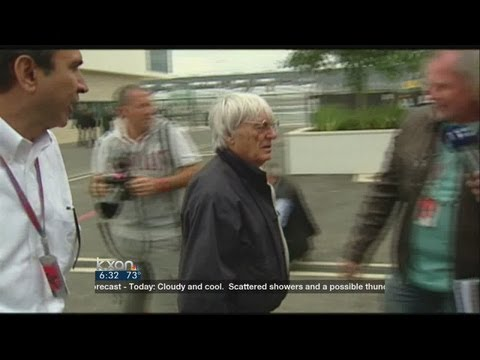 F1 boss Ecclestone indicted in bribery case