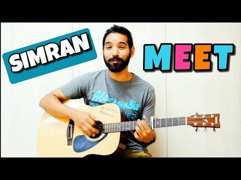 download lagu Meet Guitar Chords Lesson Simran Arijit Singh gratis