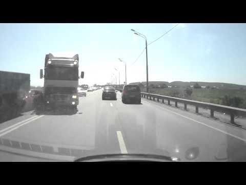 Массовая авария с участием грузовика