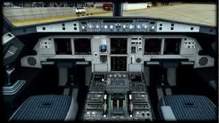 [FSX tutorial] Aerosoft Airbus X Extended Full Startup and MCDU Tutorial
