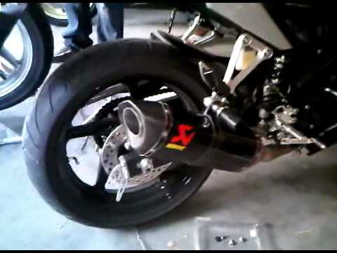 Akrapovic CBR 250 Full system without DB killer