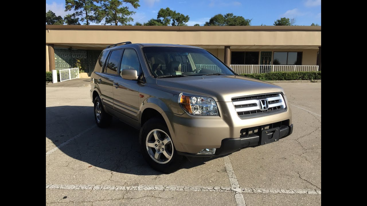 2006 honda pilot ex l fsu garnet and gold youtube. Black Bedroom Furniture Sets. Home Design Ideas