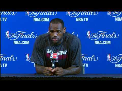 LeBron James NBA Finals Press Conference: Digging Deep