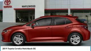 2019 Toyota Corolla Hatchback SE Maplewood, St Paul, Minneapolis, Brooklyn Park, MN K11615
