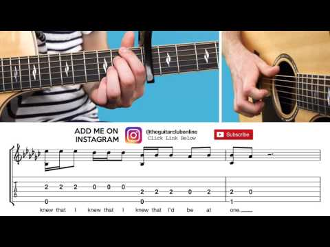 Attention - Charlie Puth (Fingerstyle Cover + TABS)