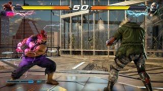 TEKKEN 7 (PS4) Bryan Vs Akuma Gameplay   G-CORP Helipad New Stage (1080p 60fps) No Commentary